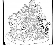 Coloriage Disney Noel 12
