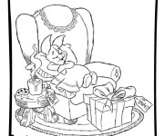 Coloriage Disney Noel 16