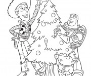 Coloriage Disney Noel à colorier