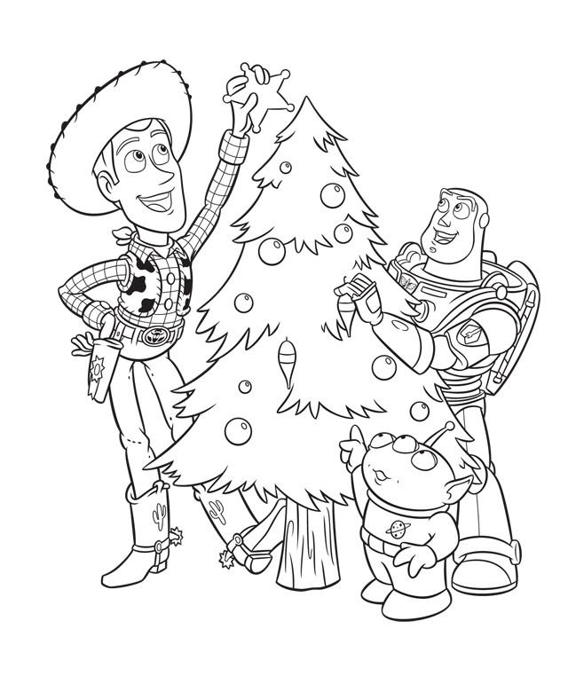 Coloriage Disney Noel à Colorier Dessin Gratuit à Imprimer
