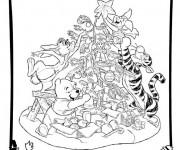 Coloriage et dessins gratuit Disney Noel à télécharger à imprimer