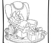 Coloriage et dessins gratuit Disney Noel magique à imprimer