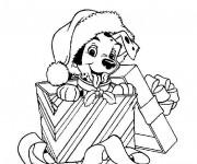 Coloriage et dessins gratuit Disney Noel maternelle à imprimer