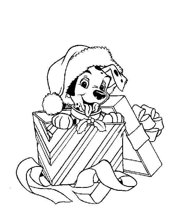 Coloriage et dessins gratuits Disney Noel maternelle à imprimer