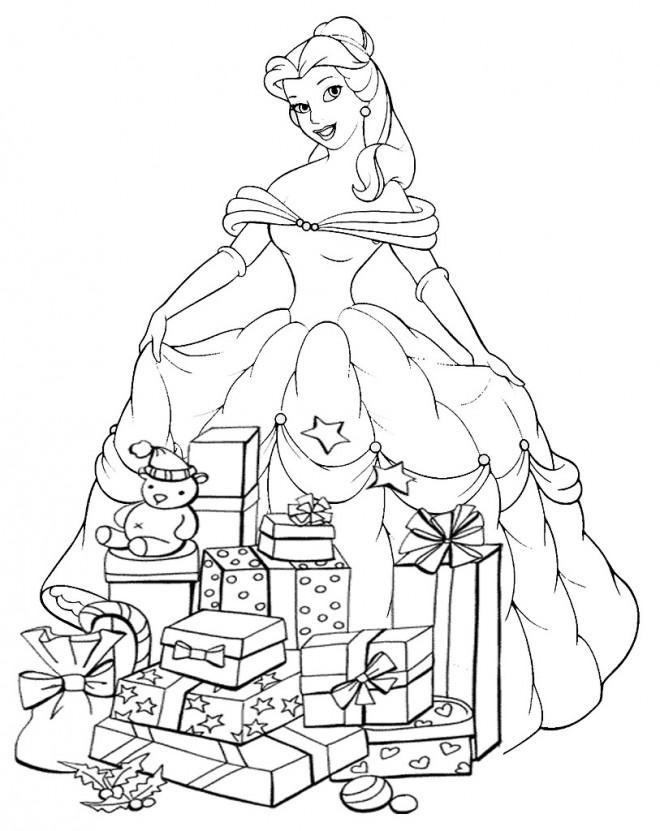 Coloriage Disney Noel gratuit à imprimer liste 20 à 40
