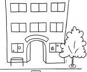 Coloriage et dessins gratuit Ecole Maternelle 11 à imprimer