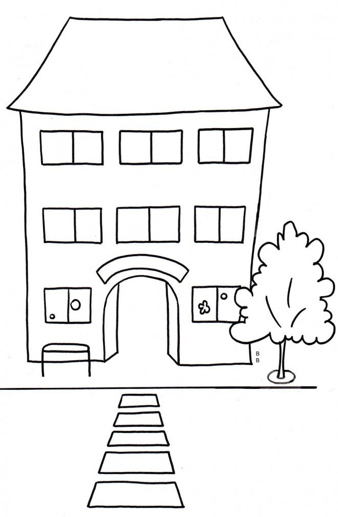 Coloriage et dessins gratuits Ecole Maternelle 11 à imprimer