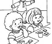 Coloriage et dessins gratuit Ecole Maternelle 15 à imprimer