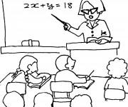 Coloriage et dessins gratuit Ecole Maternelle 18 à imprimer