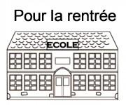 Coloriage et dessins gratuit Ecole Maternelle 29 à imprimer