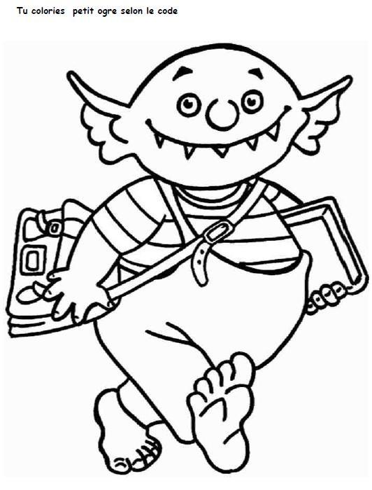 Coloriage et dessins gratuits Ecole Maternelle 30 à imprimer