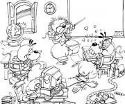 Coloriage et dessins gratuit Ecole Maternelle 32 à imprimer