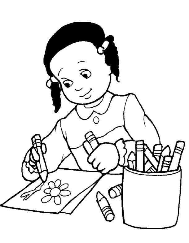 Coloriage et dessins gratuits Ecole Maternelle 35 à imprimer