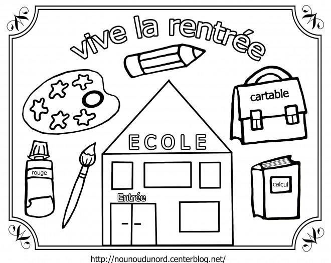 Coloriage et dessins gratuits Ecole Maternelle 4 à imprimer