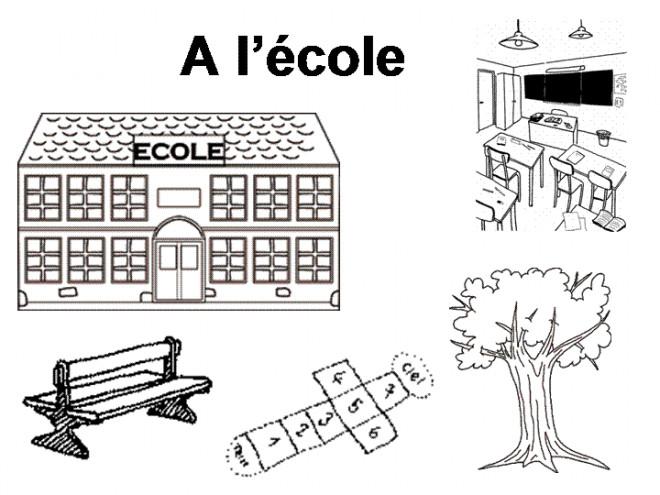 Coloriage et dessins gratuits École Primaire à imprimer