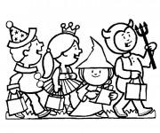 Coloriage et dessins gratuit Halloween Maternelle pour enfant à imprimer