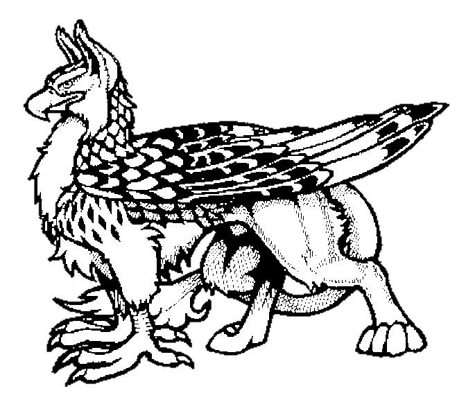 Coloriage et dessins gratuits Animal Fantastique à imprimer