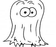 Coloriage et dessins gratuit Créature bizarre en couleur à imprimer