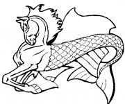 Coloriage et dessins gratuit Fantastique animal imaginaire à imprimer