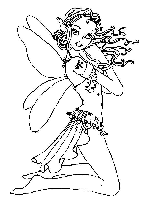 Coloriage et dessins gratuits Fantastique Créature imaginaire à imprimer