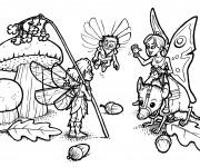 Coloriage et dessins gratuit Fantastique Créatures en couleur à imprimer