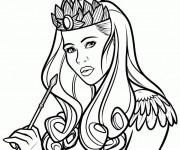 Coloriage et dessins gratuit Fantastique Femme vecteur à imprimer