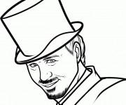 Coloriage et dessins gratuit Fantastique Magicien Film à imprimer