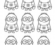 Coloriage Film Les Minions à colorier
