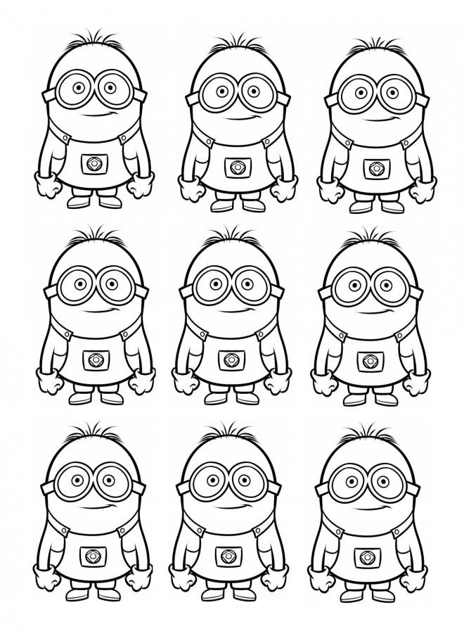 Coloriage et dessins gratuits Film Les Minions à colorier à imprimer