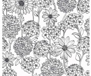 Coloriage et dessins gratuit Adulte Anti-stress 16 à imprimer