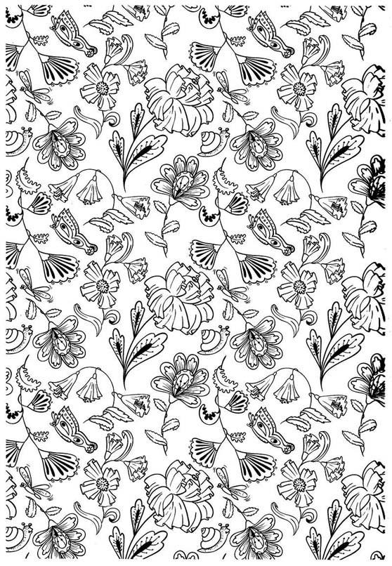 Coloriage et dessins gratuits Des Fleurs magnifiques en printemps à imprimer