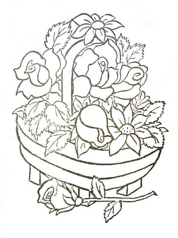 Coloriage et dessins gratuits Fleur Adulte stylisé à imprimer