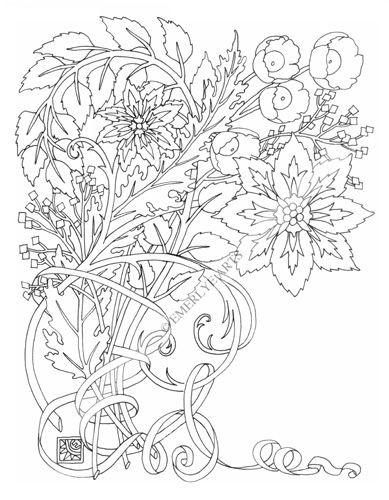 Coloriage et dessins gratuits Fleur exotique Adulte à imprimer
