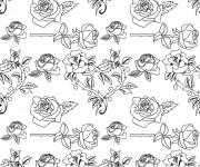 Coloriage et dessins gratuit Fleurs pour enfant à imprimer