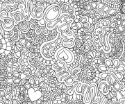 Coloriage et dessins gratuit Mandalas Zen à imprimer