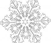 Coloriage dessin  Flocon de Neige 11