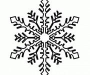 Coloriage flocon de neige gratuit imprimer - Flocon de neige a colorier ...