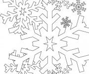Coloriage dessin  Flocon de Neige 14