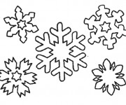 Coloriage Flocon de Neige 19