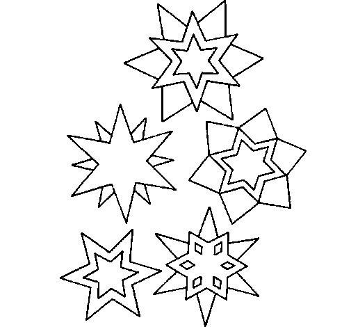 Coloriage et dessins gratuits Flocon de Neige 22 à imprimer