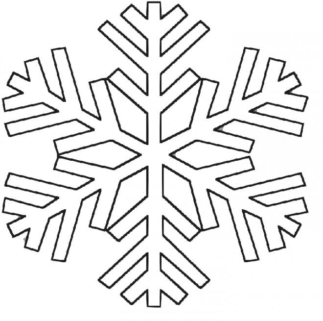 Coloriage flocon de neige 35 dessin gratuit imprimer - Dessiner un flocon de neige ...