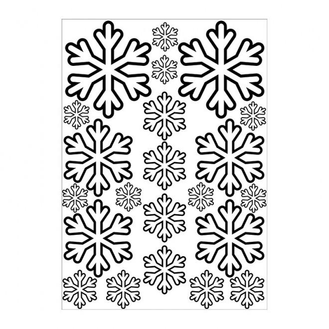 Coloriage et dessins gratuits Flocon de Neige 38 à imprimer