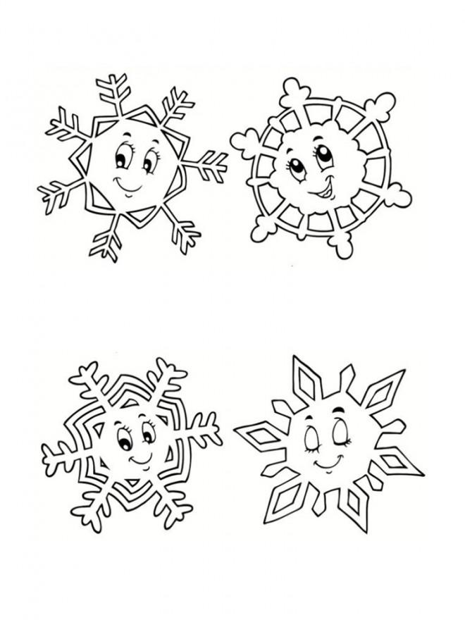 Coloriage et dessins gratuits Flocon de Neige 39 à imprimer