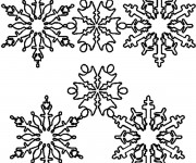 Coloriage Flocon de Neige 41