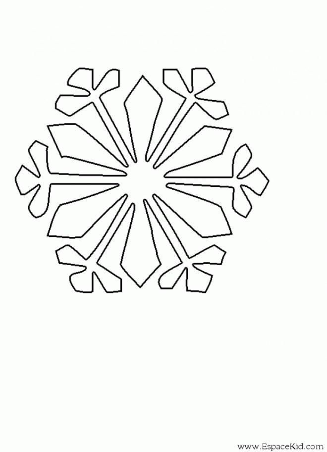 Coloriage et dessins gratuits Flocon de Neige 47 à imprimer