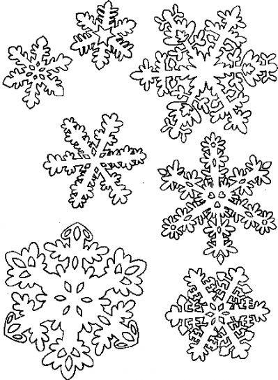 Coloriage et dessins gratuits Flocon de Neige 49 à imprimer