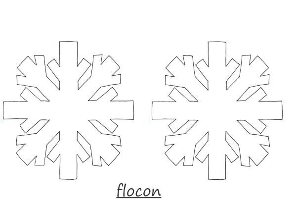 Coloriage et dessins gratuits Flocon de Neige 51 à imprimer