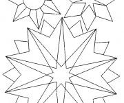 Coloriage Flocon de Neige 52