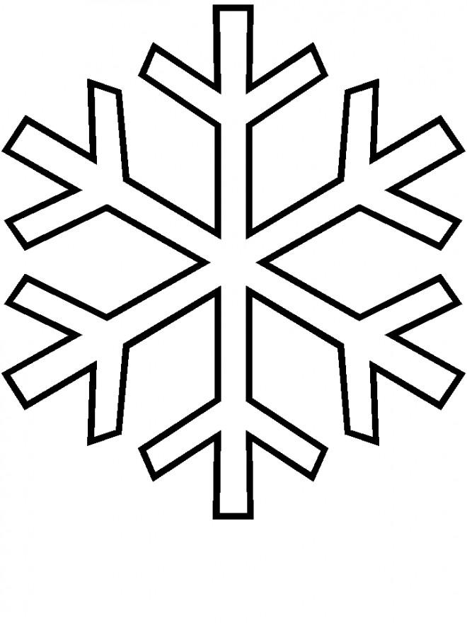 Coloriage flocon de neige maternelle dessin gratuit imprimer - Flocon de neige a colorier ...
