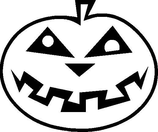 Coloriage et dessins gratuits Citrouille d'Halloween facile à imprimer